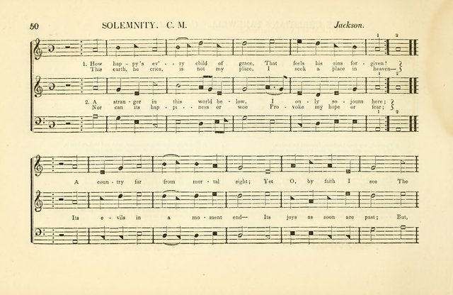 Southern and Western Pocket Harmonist: intended as an appendix to Southern Harmony; embracing the principle hymns, songs, choruses and revival tunes, usually sung at protracted and campmeetings... page 57