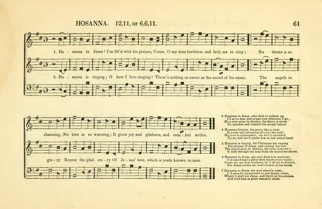 Southern and Western Pocket Harmonist: intended as an appendix to Southern Harmony; embracing the principle hymns, songs, choruses and revival tunes, usually sung at protracted and campmeetings... page 68