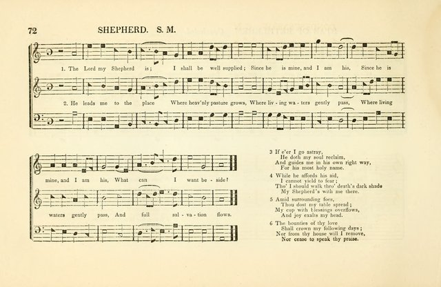Southern and Western Pocket Harmonist: intended as an appendix to Southern Harmony; embracing the principle hymns, songs, choruses and revival tunes, usually sung at protracted and campmeetings... page 79