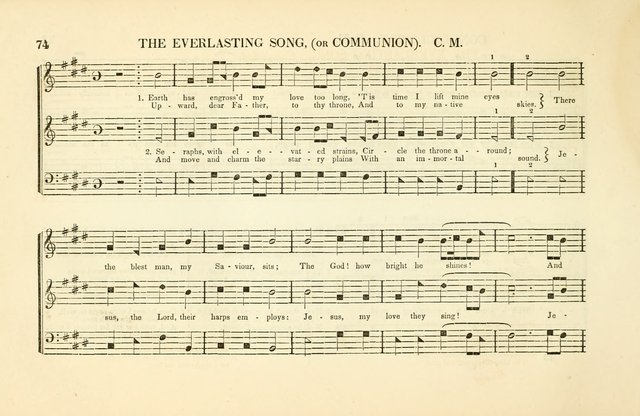 Southern and Western Pocket Harmonist: intended as an appendix to Southern Harmony; embracing the principle hymns, songs, choruses and revival tunes, usually sung at protracted and campmeetings... page 81