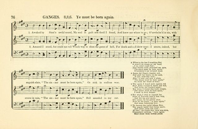 Southern and Western Pocket Harmonist: intended as an appendix to Southern Harmony; embracing the principle hymns, songs, choruses and revival tunes, usually sung at protracted and campmeetings... page 83