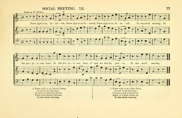 Southern and Western Pocket Harmonist: intended as an appendix to Southern Harmony; embracing the principle hymns, songs, choruses and revival tunes, usually sung at protracted and campmeetings... page 84