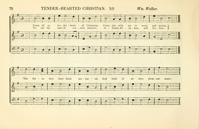 Southern and Western Pocket Harmonist: intended as an appendix to Southern Harmony; embracing the principle hymns, songs, choruses and revival tunes, usually sung at protracted and campmeetings... page 85