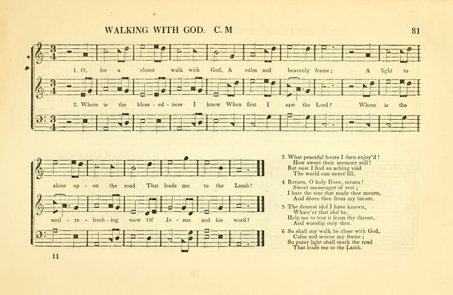 Southern and Western Pocket Harmonist: intended as an appendix to Southern Harmony; embracing the principle hymns, songs, choruses and revival tunes, usually sung at protracted and campmeetings... page 88