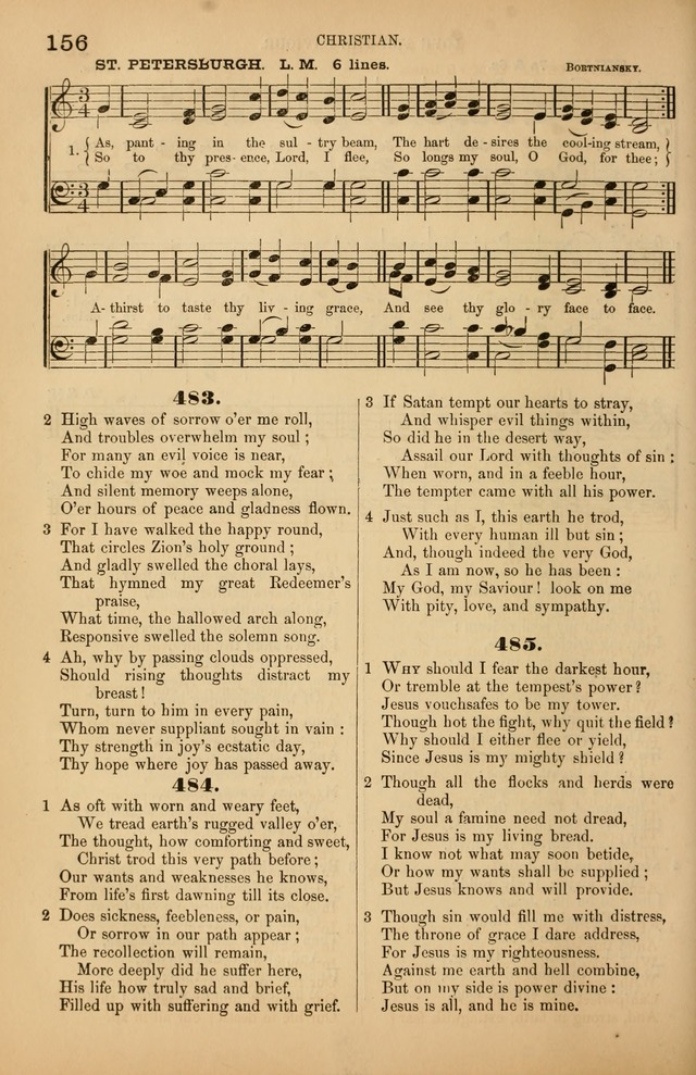 Songs of the Church: or, hymns and tunes for Christian worship page 156