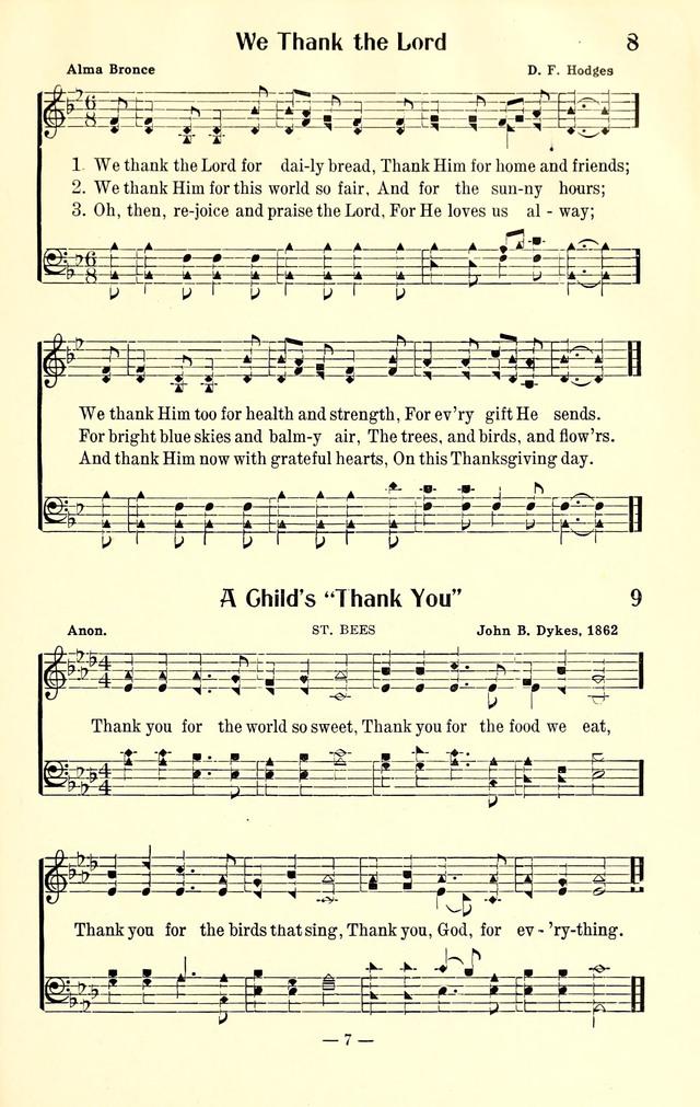 Thank you praise song