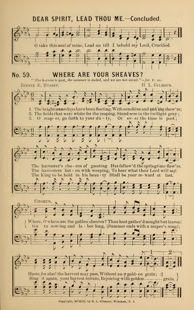 Songs of Christian Service page 57