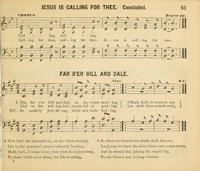 Songs of Glory, No.2: a collection of beautiful songs for Sunday Schools and the Family Circle page 67