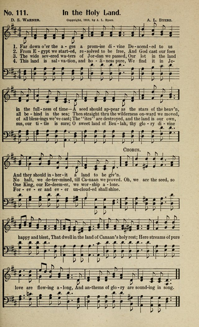 Songs of Grace and Glory: A New and Inspiring Selection of Sacred Songs for Evangelical Use and General Worship page 114