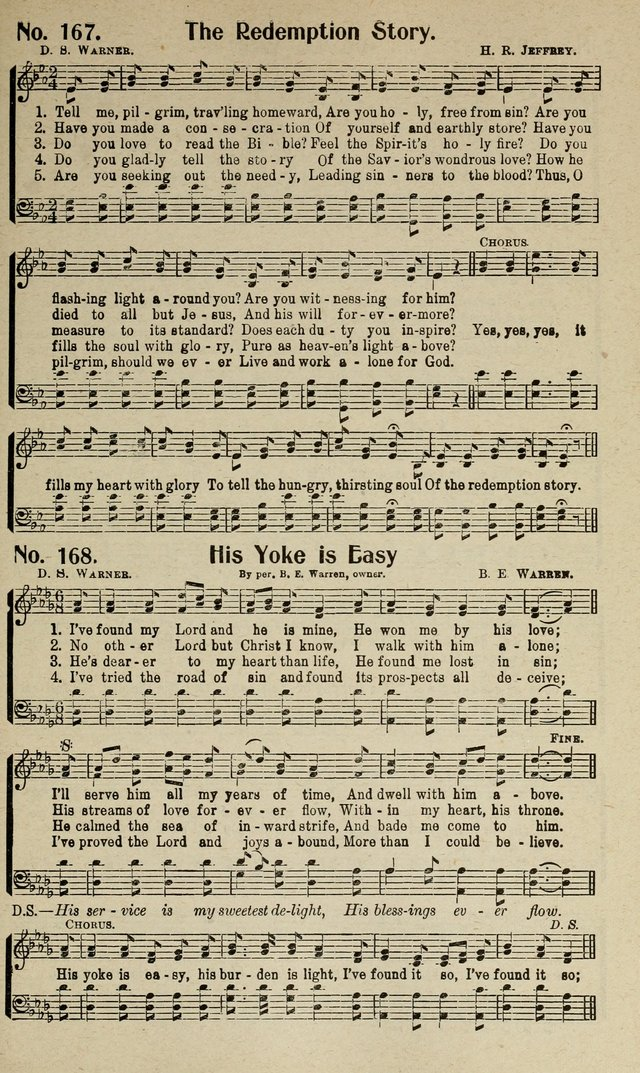 Songs of Grace and Glory: A New and Inspiring Selection of Sacred Songs for Evangelical Use and General Worship page 170