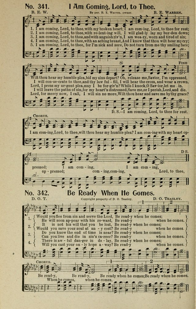 Songs of Grace and Glory: A New and Inspiring Selection of Sacred Songs for Evangelical Use and General Worship page 263