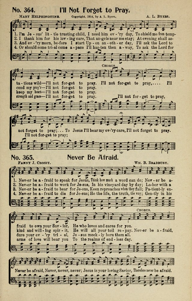 Songs of Grace and Glory: A New and Inspiring Selection of Sacred Songs for Evangelical Use and General Worship page 274