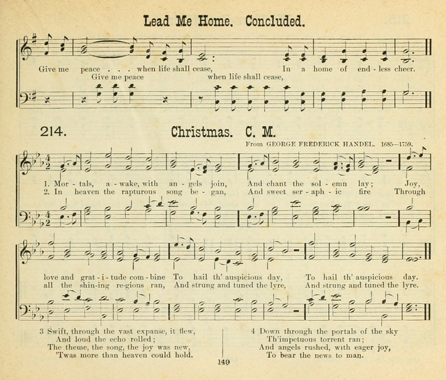 Songs of the Morning, a choice collection of songs and hymns for the Sunday school and other social services page 150