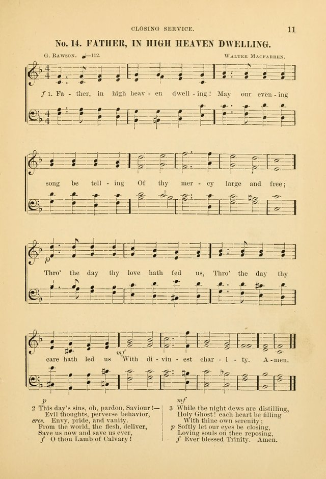 The Spirit of Praise: a collection of music with hymns for use in Sabbath-school services and church meetings page 13