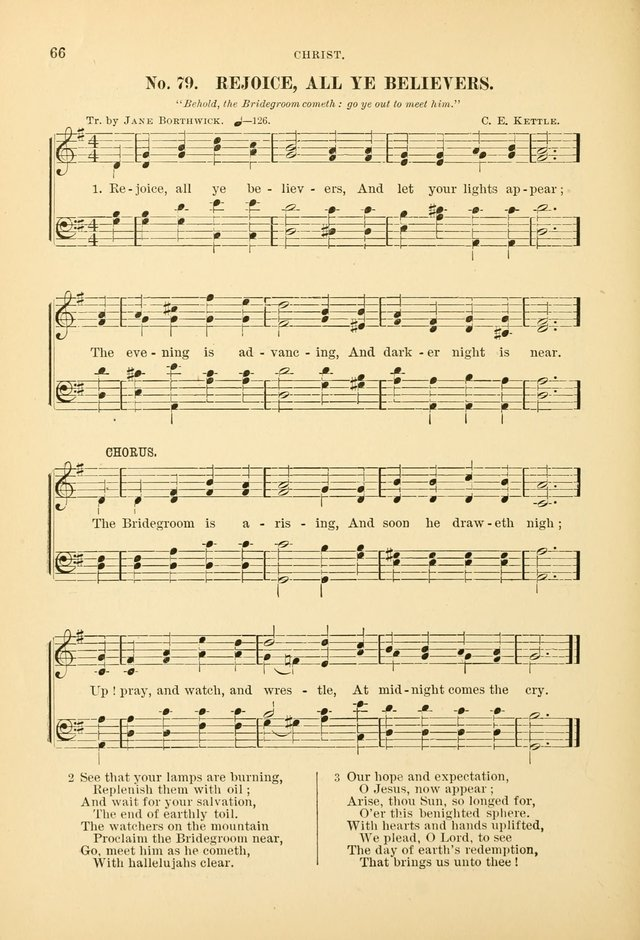 The Spirit of Praise: a collection of music with hymns for use in Sabbath-school services and church meetings page 68