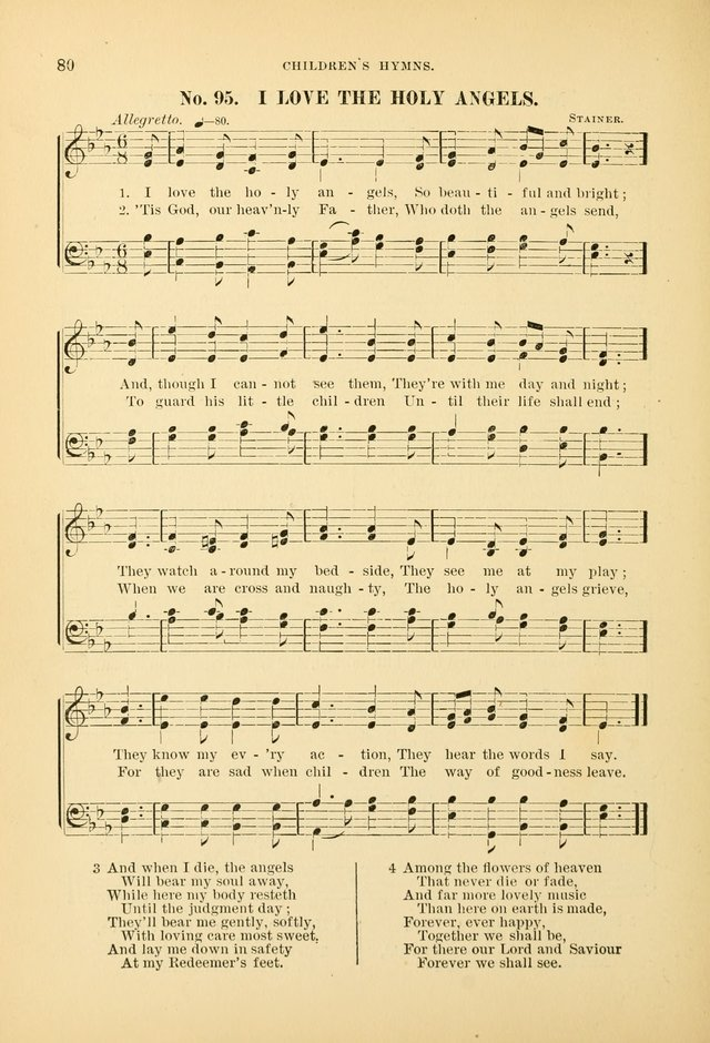The Spirit of Praise: a collection of music with hymns for use in Sabbath-school services and church meetings page 82