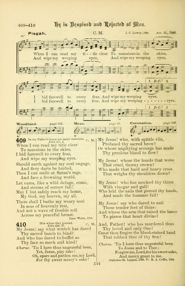 Songs of Pilgrimage: a hymnal for the churches of Christ (2nd ed.) page 114