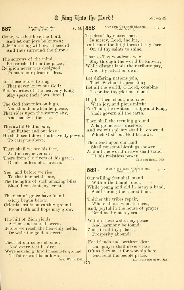 Songs of Pilgrimage: a hymnal for the churches of Christ (2nd ed.) page 175