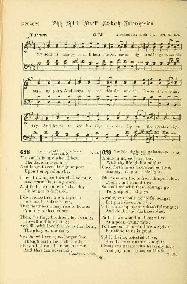 Songs of Pilgrimage: a hymnal for the churches of Christ (2nd ed.) page 186
