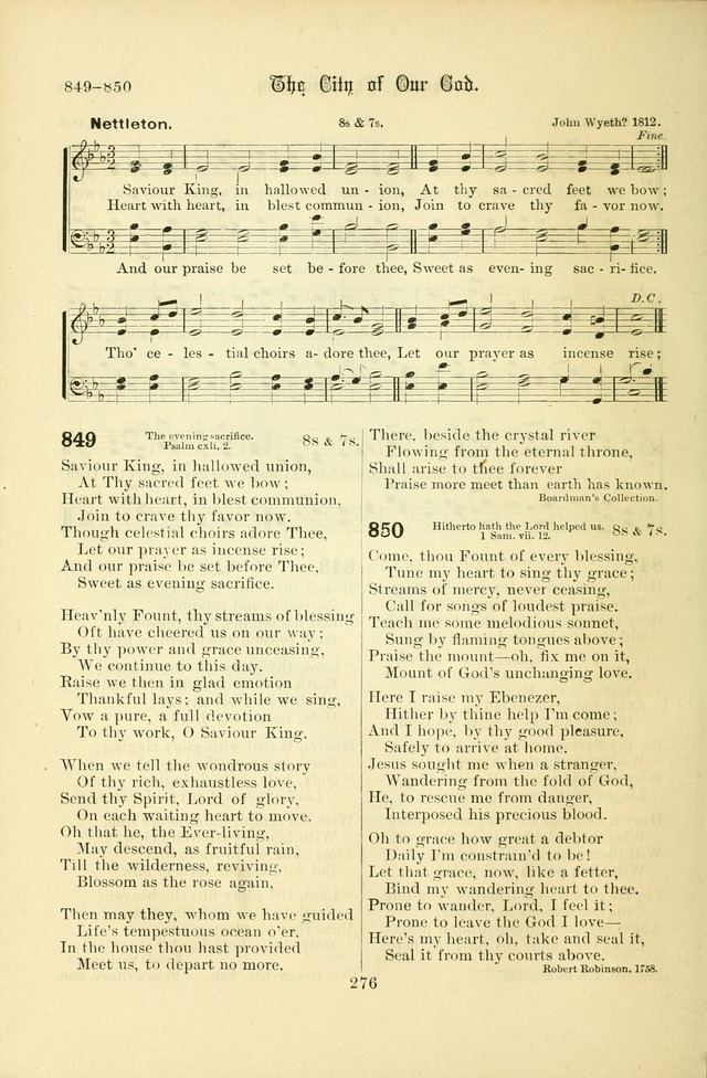Songs of Pilgrimage: a hymnal for the churches of Christ (2nd ed.) page 276