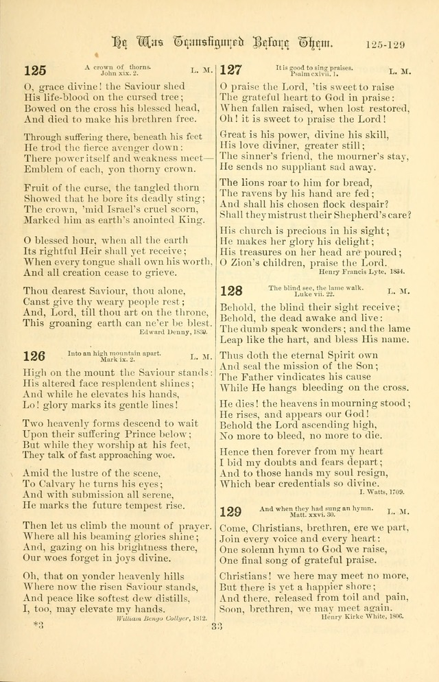 Songs of Pilgrimage: a hymnal for the churches of Christ (2nd ed.) page 33