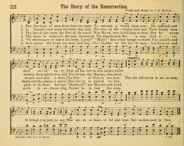 Songs of Rejoicing: a collection of new songs for the Sunday-school page 112