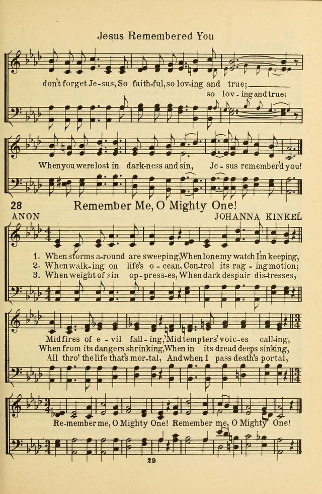 Songs of Service: for use in assemblies of young people and older boys and girls page 31