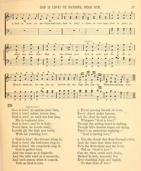 A Selection of Spiritual Songs: with music, for the Sunday-school page 25