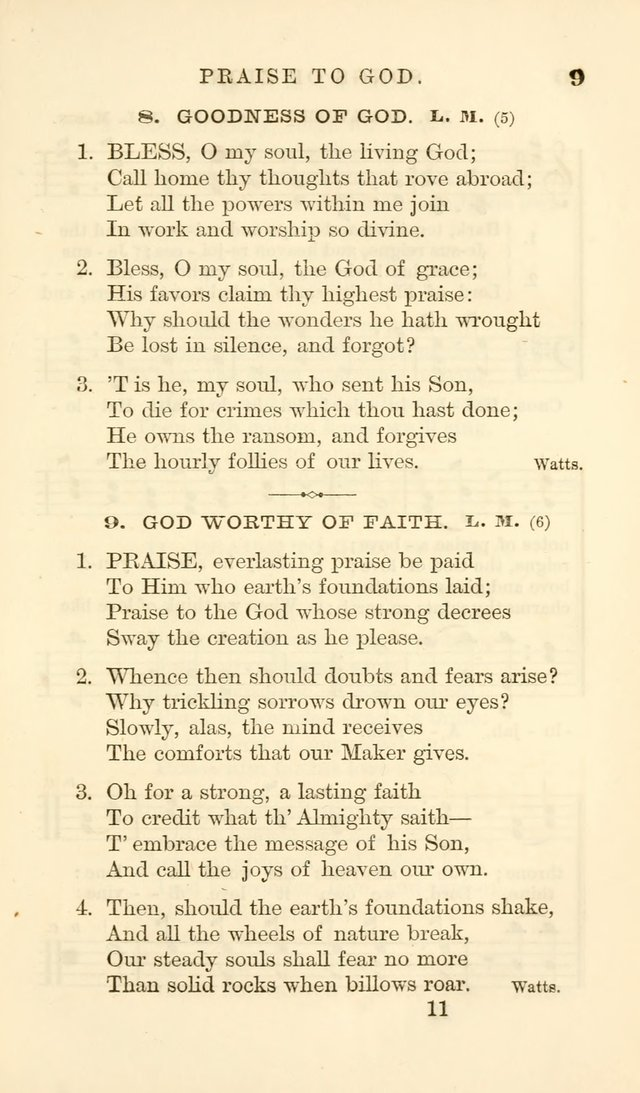 Songs of Zion Enlarged: a manual of the best and most popular hymns and tunes, for social and private devotion page 18