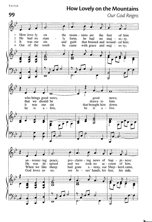 Our God Reigns Hymnary
