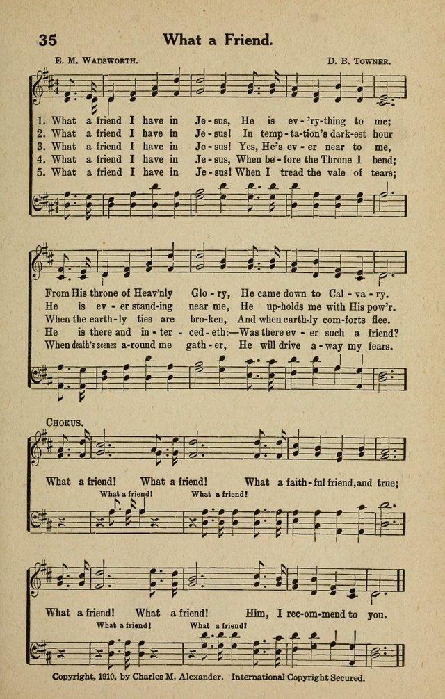 The Tabernacle Hymns page 35
