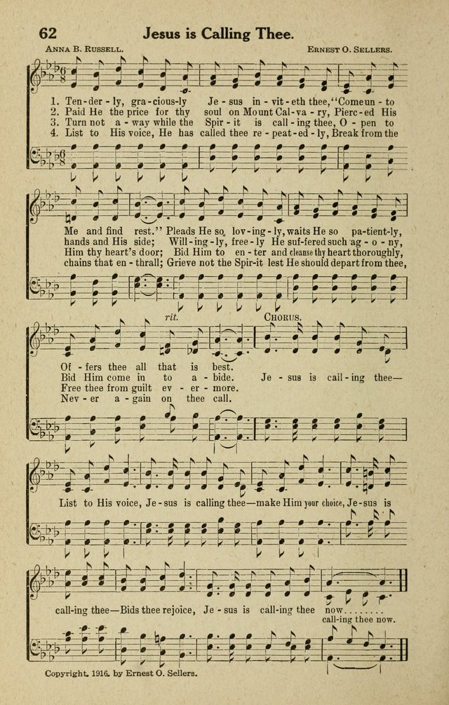The Tabernacle Hymns page 62