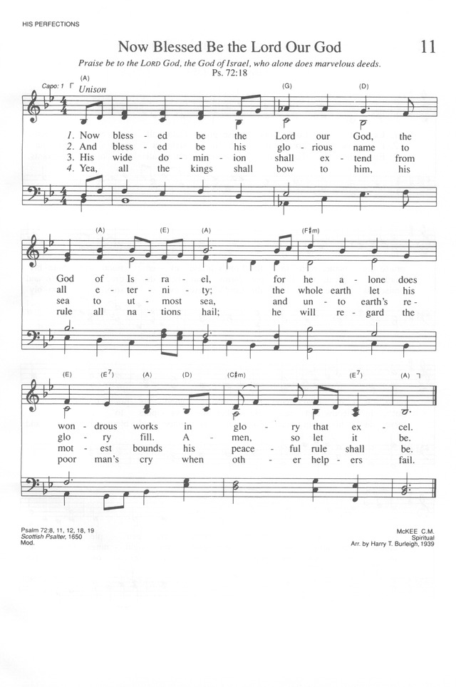 trinity hymnal  rev  ed   11  now blessed be the lord our