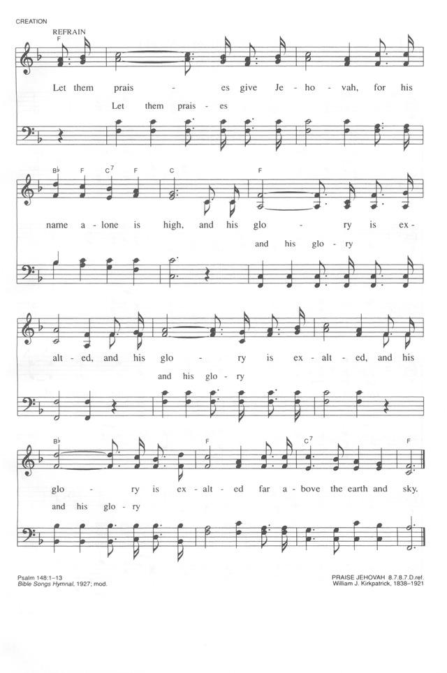 Trinity Hymnal Rev Ed 110 Hallelujah Praise Jehovah Hymnary