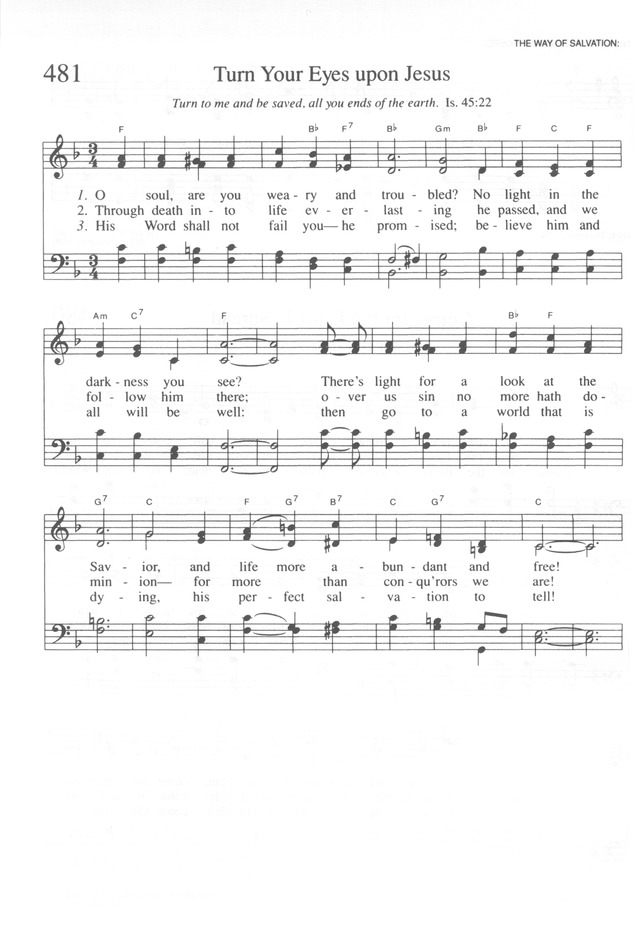 Attractive Turn Your Eyes Upon Jesus Guitar Chords Picture ...