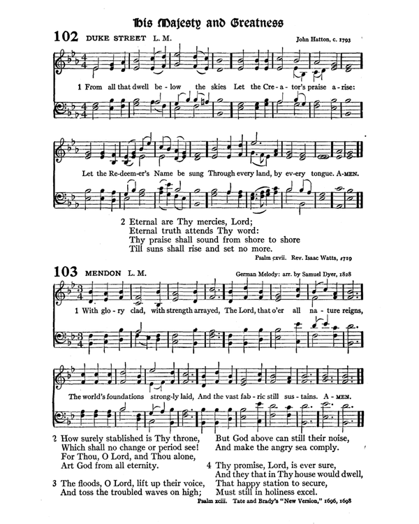The Hymnal : published in 1895 and revised in 1911 by authority of the General Assembly of the Presbyterian Church in the United States of America : with the supplement of 1917 page 148