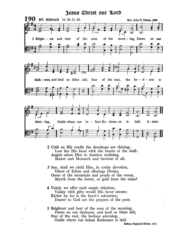 The Hymnal : published in 1895 and revised in 1911 by authority of the General Assembly of the Presbyterian Church in the United States of America : with the supplement of 1917 page 263