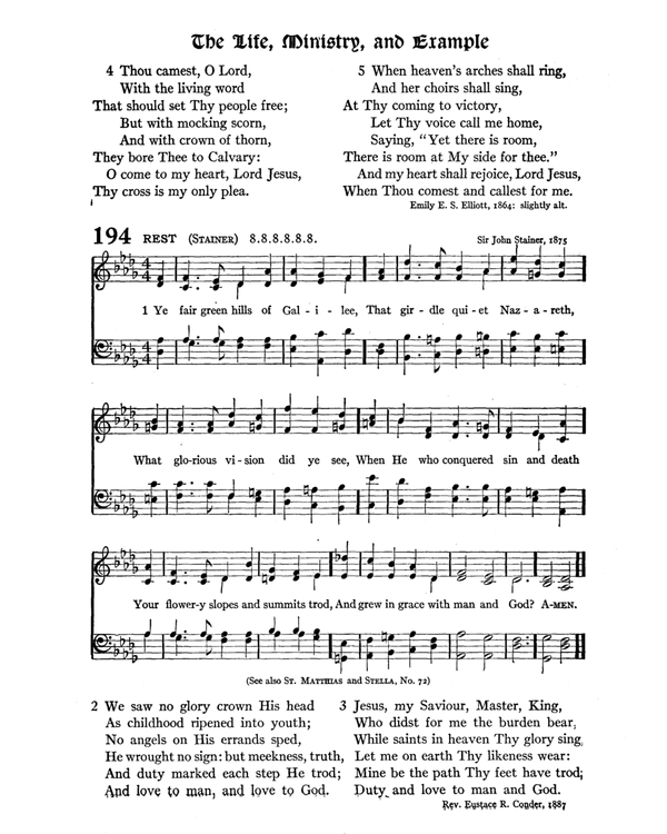 The Hymnal : published in 1895 and revised in 1911 by authority of the General Assembly of the Presbyterian Church in the United States of America : with the supplement of 1917 page 271