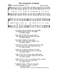 Sing Alleluia Forth In Duteous Praise Hymnary