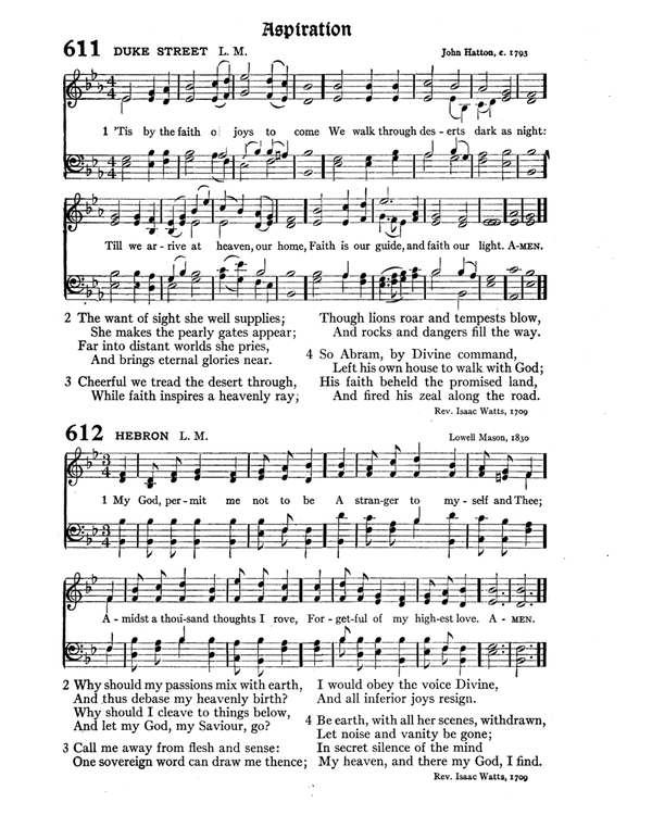 The Hymnal : published in 1895 and revised in 1911 by authority of the General Assembly of the Presbyterian Church in the United States of America : with the supplement of 1917 page 804
