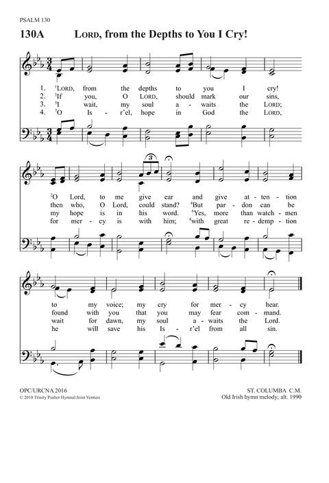 ST  COLUMBA (Irish)   Hymnary org