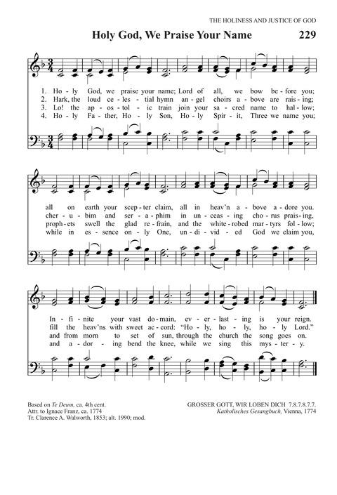 Holy God, We Praise Thy Name | Hymnary org