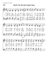 Hark! The Herald Angels Sing | Hymnary org