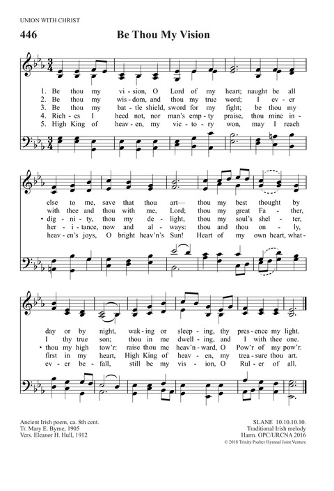 Be Thou My Vision | Hymnary org