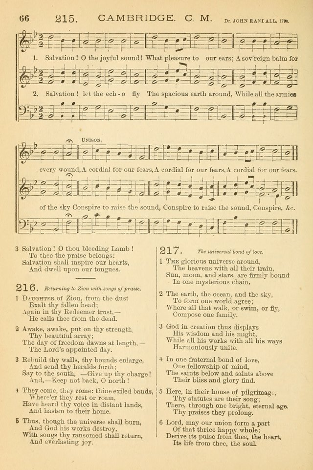 The Tribute of praise and Methodist Protestant Hymn Book. page 83