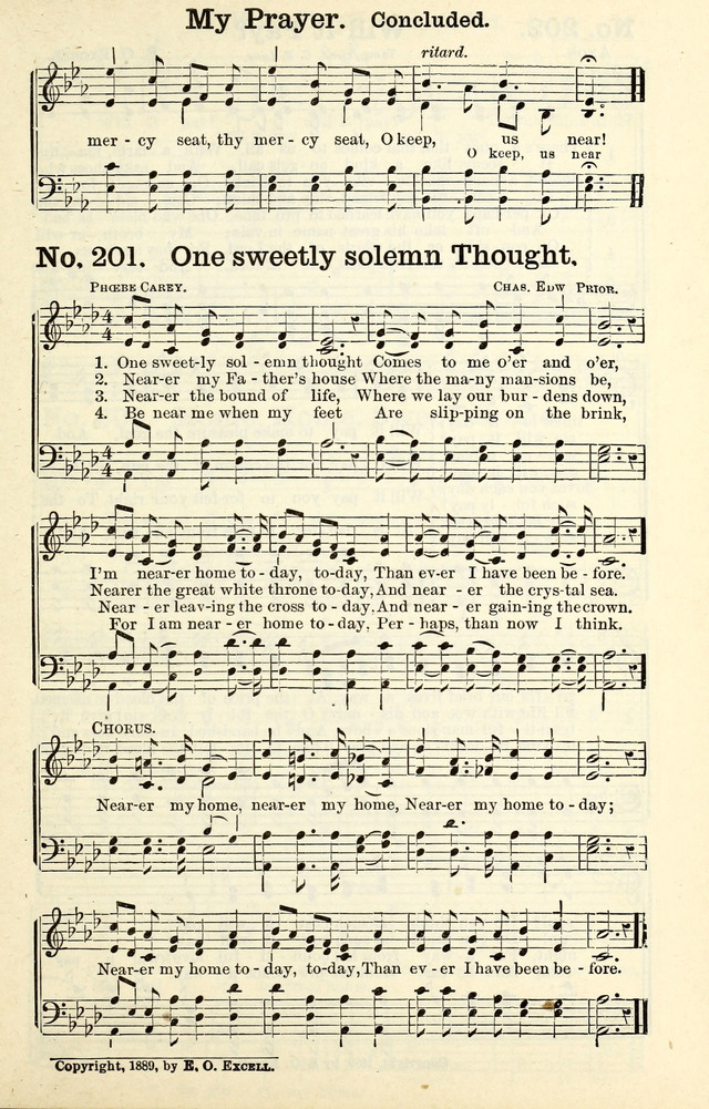 All Music Chords one sweet day sheet music : Triumphant Songs No.2 201. One sweetly solemn thought - Hymnary.org