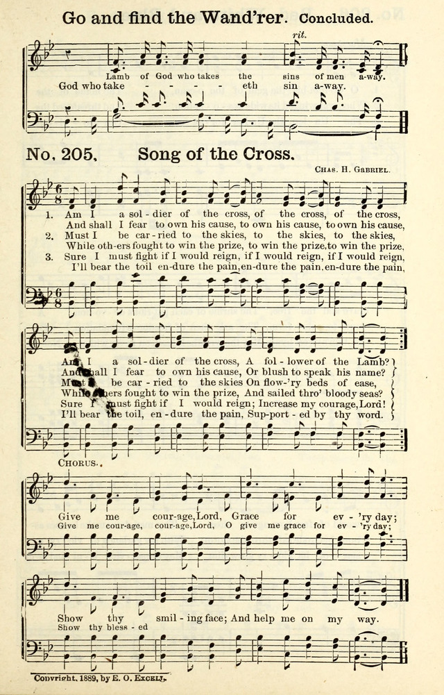 Triumphant Songs No 2 205  Am I a soldier of the cross, of