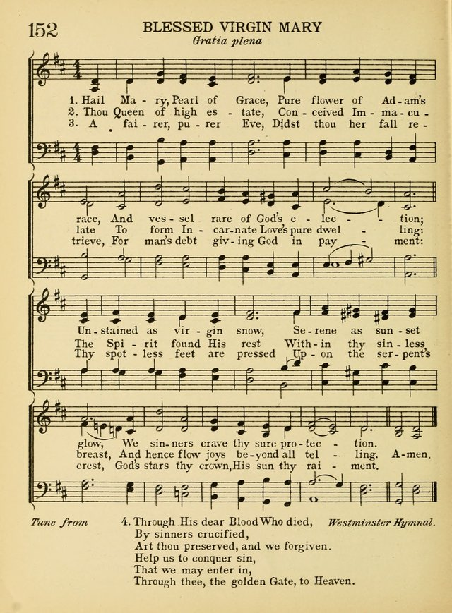 A Treasury of Catholic Song: comprising some two hundred hymns from Catholic soruces old and new page 188