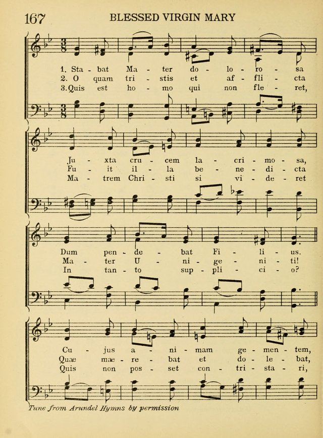 A Treasury of Catholic Song: comprising some two hundred hymns from Catholic soruces old and new page 208