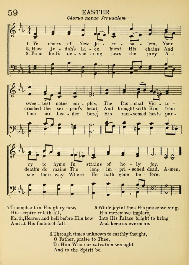 A Treasury of Catholic Song: comprising some two hundred hymns ...